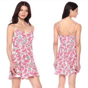 Show Me Your Mumu Regina Watermelon Print Dress